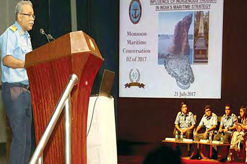 The second Maritime Monsoon Conversation was conducted by Maritime History Society (MHS), Mumbai on 21 Jul 17 on the