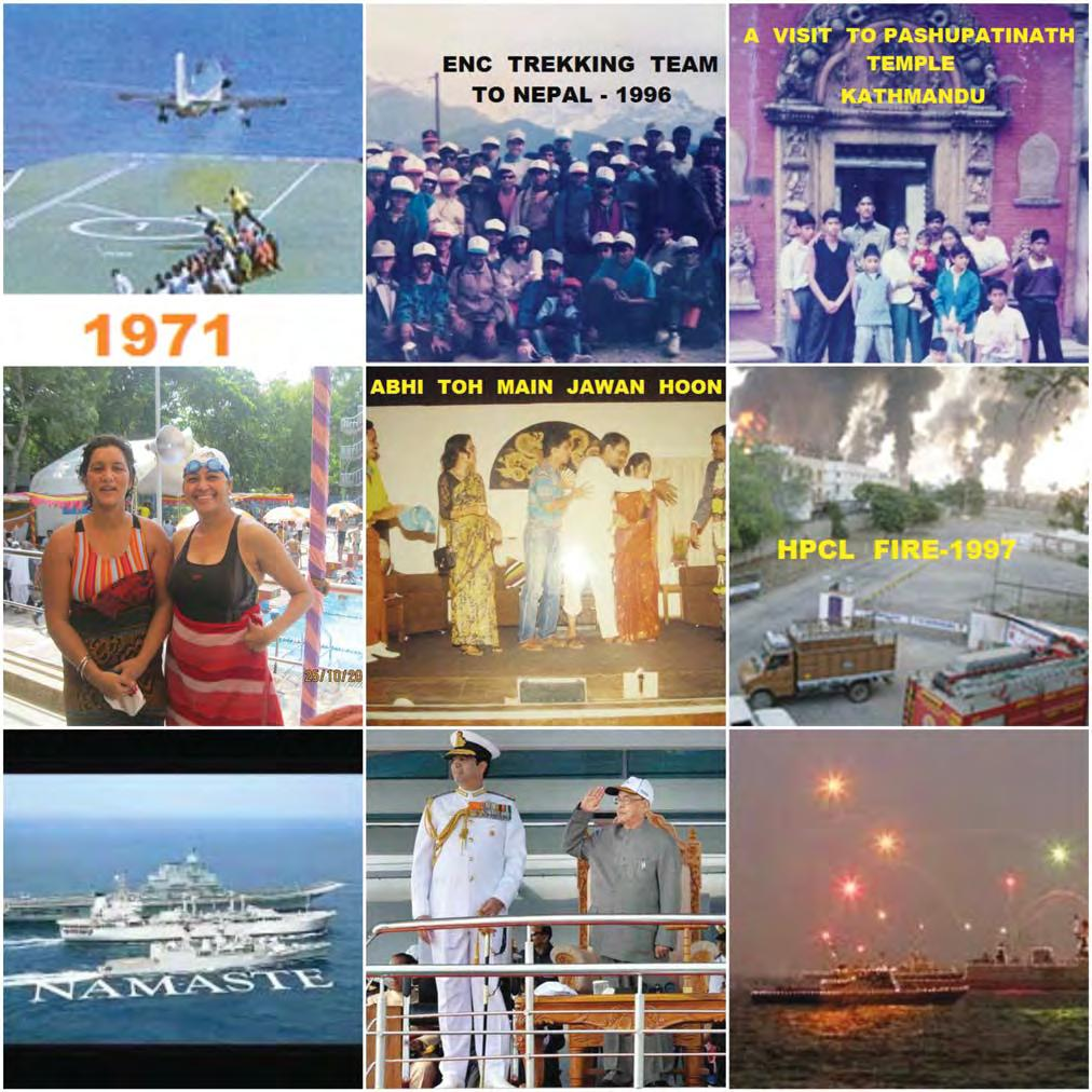 ENC THE GOLDEN YEARS Commander Rajinder Dutta (Retd) As we turn the pages of our life s album, memories, flood back of our tenure in the Eastern Naval Command from 1993-97.