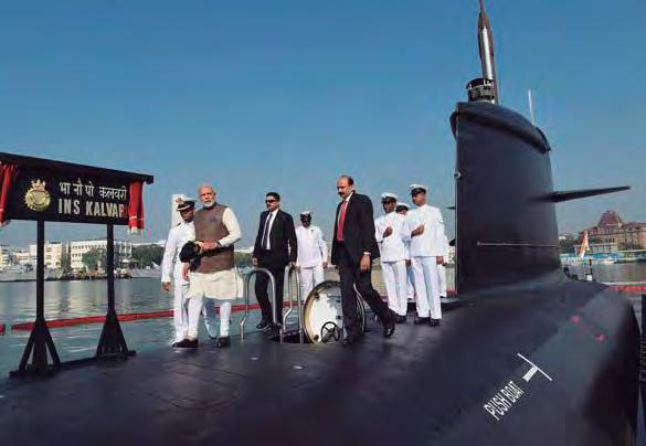 old veteran, I was proud to attend the Submarine Golden Jubilee Celebrations at Visakhapatnam (5 to 9 December 2017), and witness the President's Colours presentation ceremony.