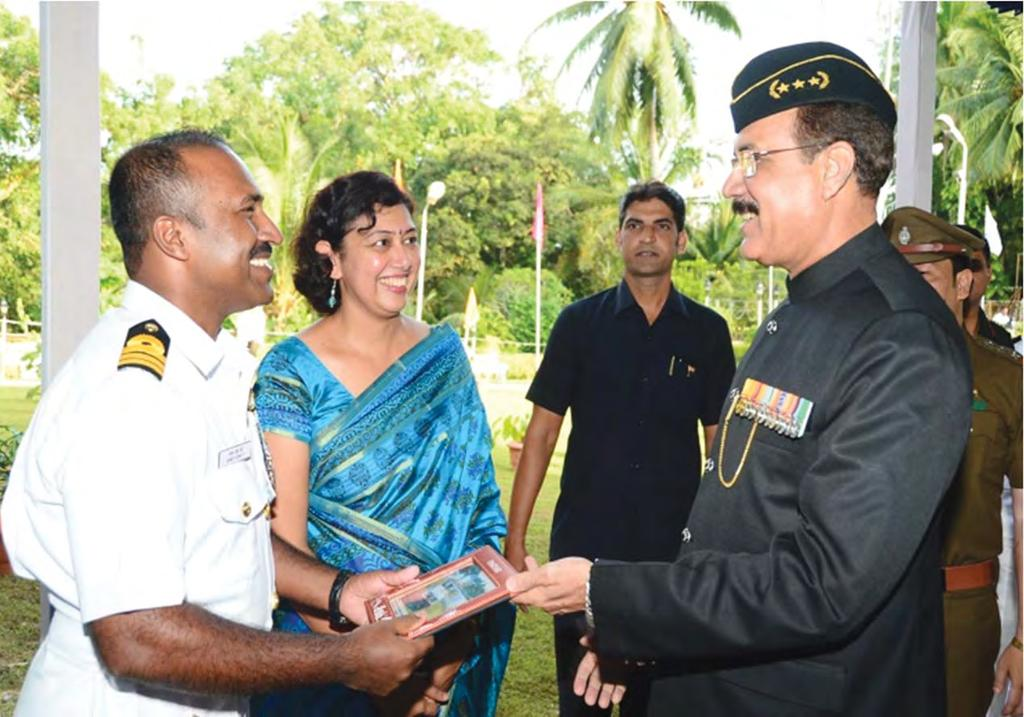 Andaman Calling Commander James John The news of posting to the pristine islands of Andamans from the salubrious climes of DSSC, Wellington was received with mixed emotions by my family.