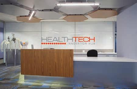 a hub of innovation The Health and Technology District is a vibrant ecosystem of innovators and entrepreneurs working alongside scientists, educators and
