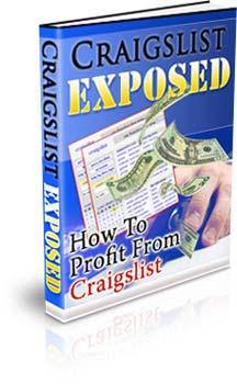 Craigslist Exposed How To Profit From Craigslist By Wayne Van Dyck www.