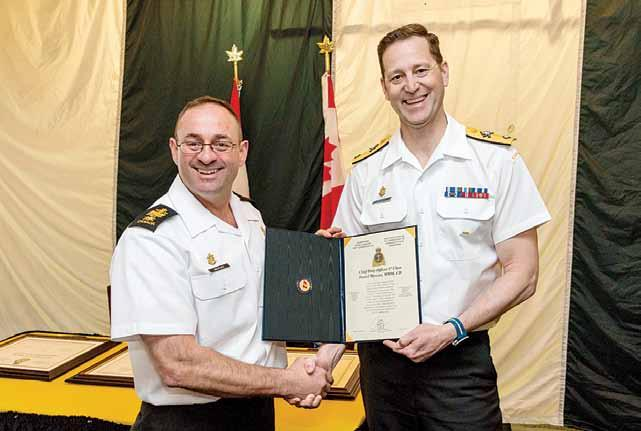 2 TRIDENT News May 28, 2018 Change of appointment brings new Fleet Chief to CANFLTLANT By Virginia Beaton, Trident Staff During a Change of Appointment ceremony on Thursday May 10, Fleet Chief Petty