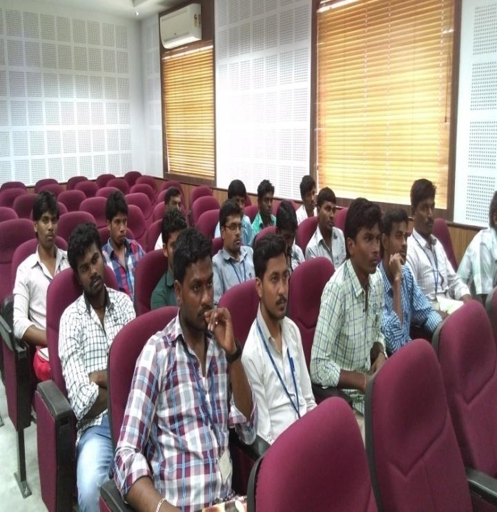 Students actively participated in GD, Aptitude Test, soft Skills