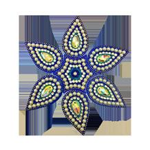In North facing home and office, use 6 petals Blue Rangoli to attract New Opportunities in