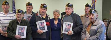 THE APPRECIATION Veterans nationwide received this gift with