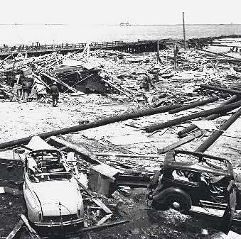 The dangerously fast pace at which they were ordered to work resulted in a terrible accident on July 17, 1944.