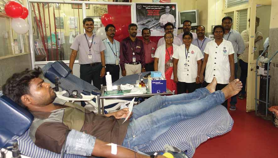 Facts & Figures: 2017-2018 Sustainable Development Goals. 5. The World Blood Donor Day was observed on 14 th June 2017.