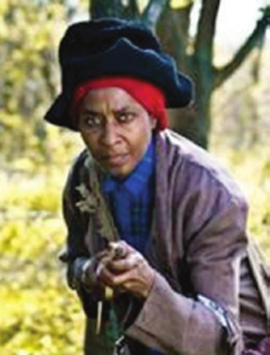 Harriet Tubman will discuss her escape to freedom, work on the Underground Railroad, service as a scout and nurse for the Union Army, and her experience as a spy.