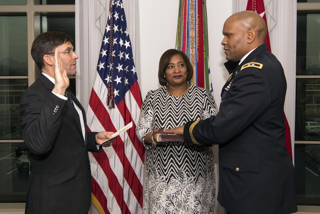 Army swears in, promotes new inspector general By Dustin Perry, U.S. Army Inspector General Agency March 14, 2018 (Retrieved from https://www.army.