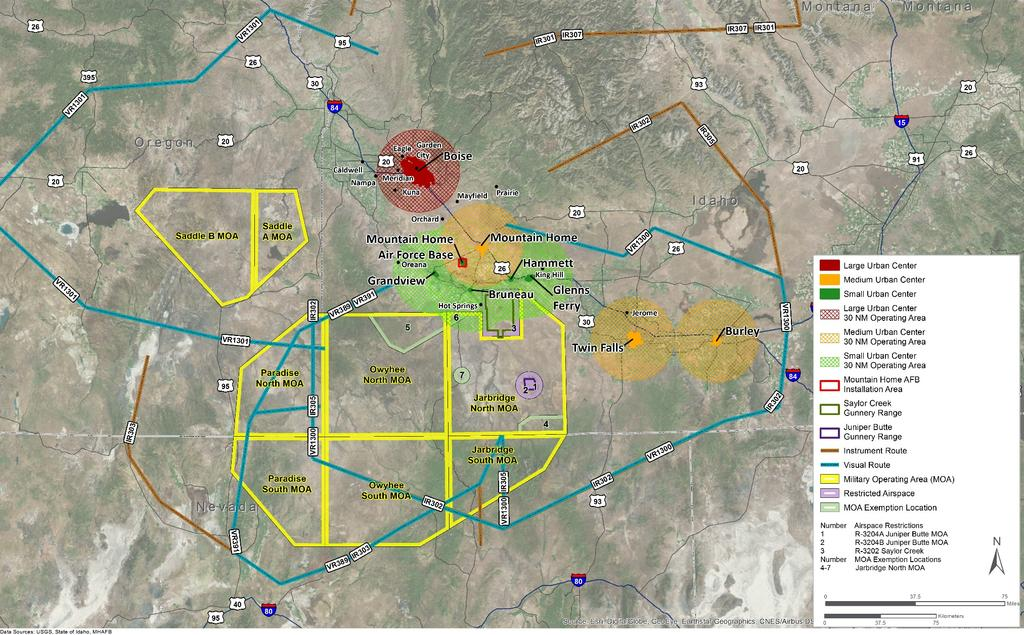 Final DOPAA for Urban CAS Air and Ground Training Spaces, Mountain Home AFB DESCRIPTION OF THE PROPOSED ACTION AND