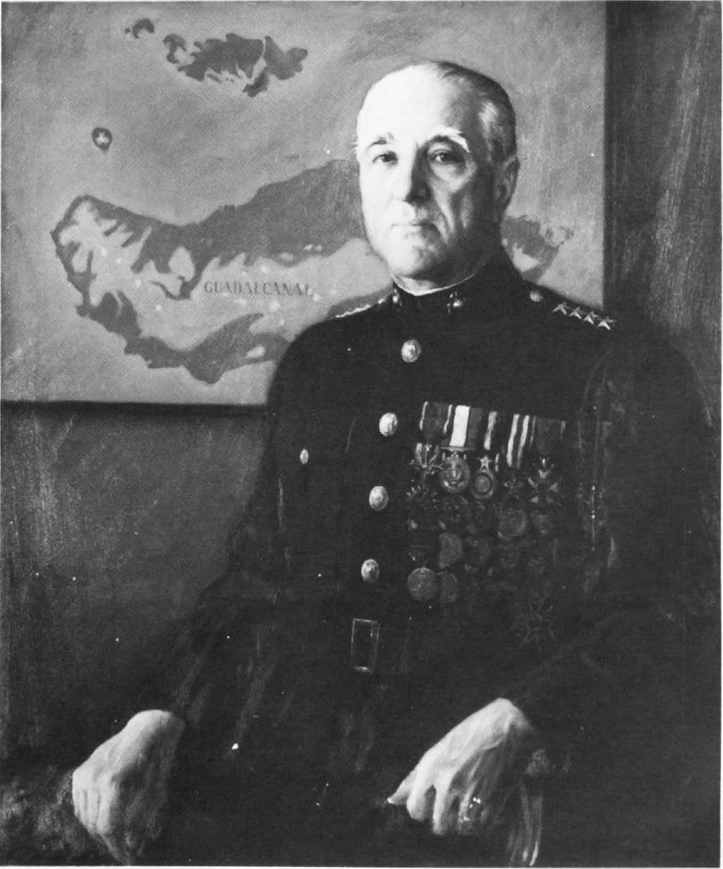 "Of his own experience of the Marine Corps' first combat in two world wars he would say: ""Certain battles have a special quality. Belleau Wood and Guadalcanal were such battles."