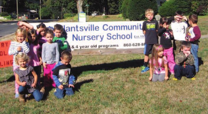 To advertise, call (860) 628-9645 Plantsville Nursery School celebrates 60 years Over their 60 years, the as a group, like singing songs, Through practicing the By LINDSAY CAREY nursery school has