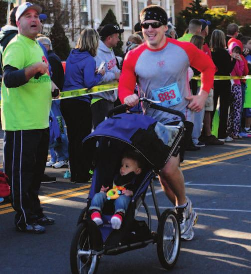 events, including the signature 5-mile road race, the 5K road race,