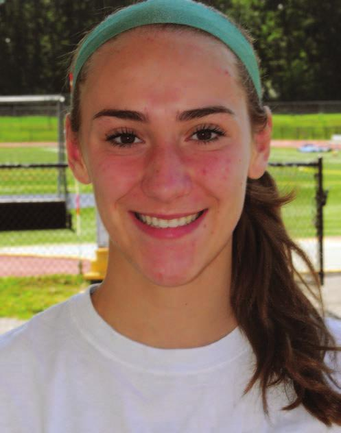 36 To advertise, call (860) 628-9645 Athletes of the week Erin Angelillo seemed to skip across the Town Green as if she didn t have a care in the world.