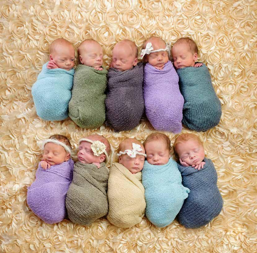 The Neonatal Unit at University Maternity Hospital Limerick is a busy place at any time of year but was especially so in October 2016 with the arrival in quick succession of quadruplets, triplets and