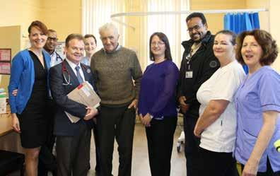 2016 At a Glance JANUARY New Renal Clinic Opens in Ennis Hospital A NEW Kidney Clinic has opened its doors at Ennis Hospital, providing diagnostic and treatment services to Clare patients with
