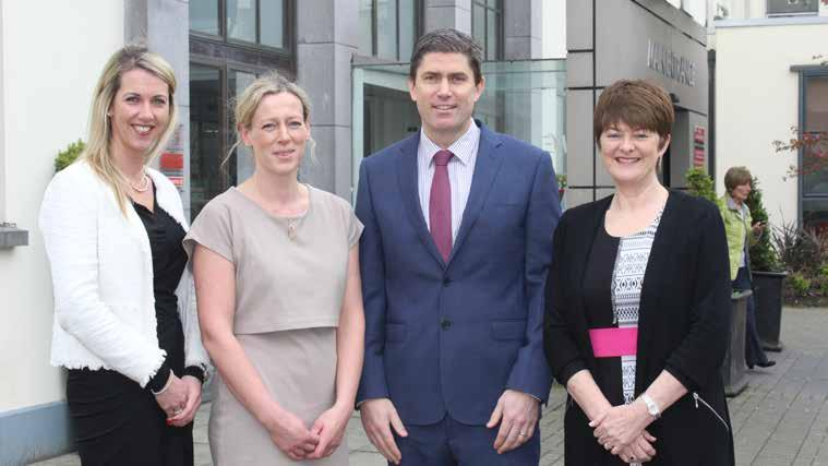 UL Hospitals Group Annual Review 2016 Below Perioperative Directorate Team (L-R) Helen McCormack, Directorate Manager, Dr.