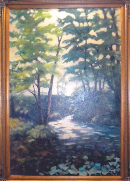 Each month The Art Gallery of Potomac features a different local artist s work.