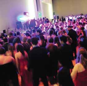 The ball was held March 15 at the newly