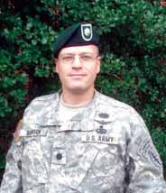 Peter J. Benson, MD LTC, USA Command Surgeon I would like to introduce myself as the first U.S. Army Special Forces Command (Airborne), Command Surgeon.