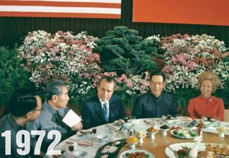Détente President Nixon sought to improve relations with the USSR and China, but Soviet relations remained strained.