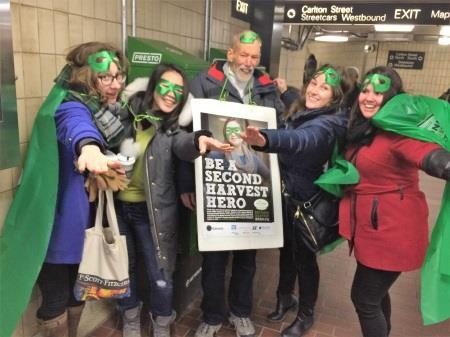 Three hours at a downtown subway station raises an average of $1,200 towards your Hero campaign.