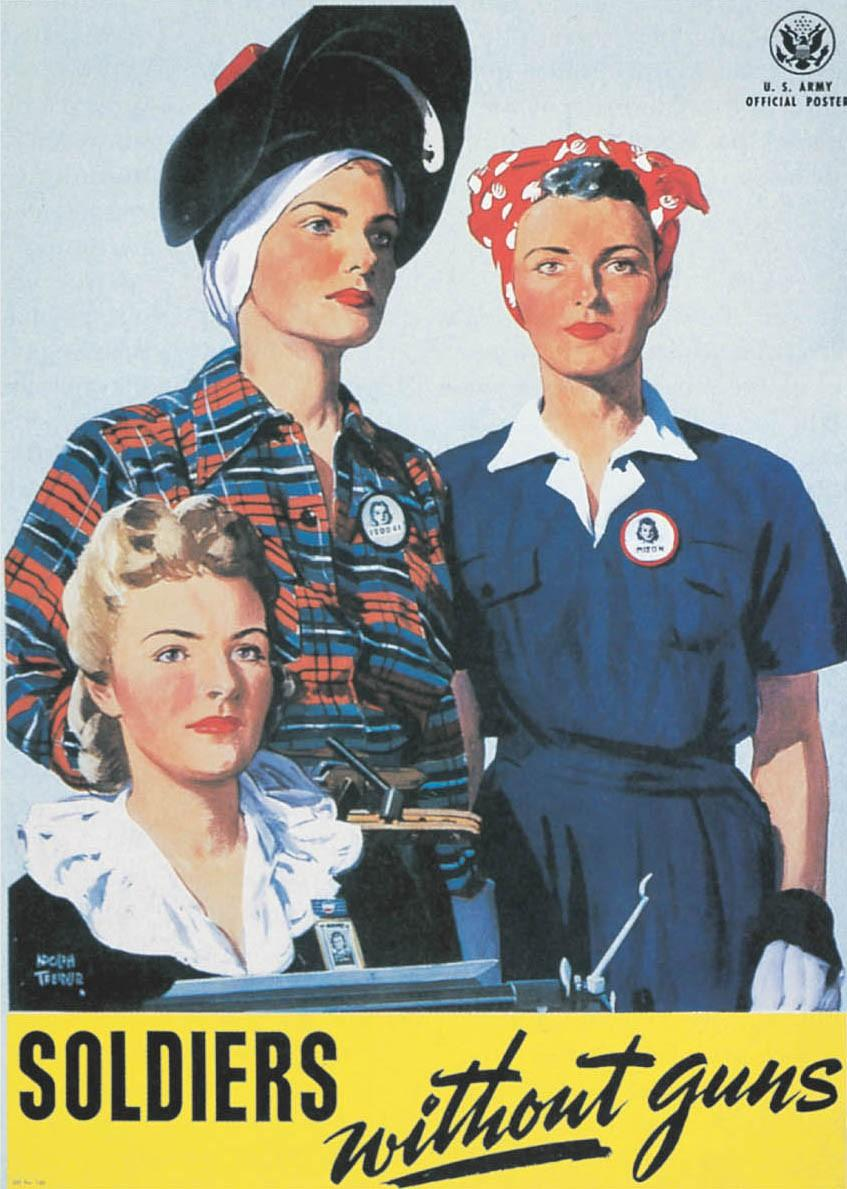The American People in Wartime Women and