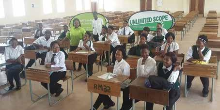 Figure NC4 : High school learners recruitment drive at John Taolo Gaetsewe district in Tshwaragano Technical Skills and Training Over the years, considerable effort has been put into ensuring that