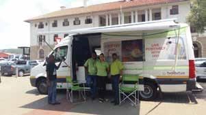 Transport Health Campaign, Bosman Station in Pretoria,