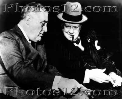 CASABLANCA MEETING FDR and Churchill in Casablanca FDR and Churchill met in Casablanca and decided their next moves 1) Plan amphibious