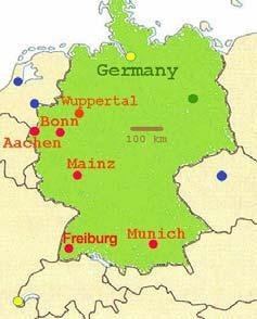 In October 1944, Americans captured their first German town (Aachen) the Allies were closing in