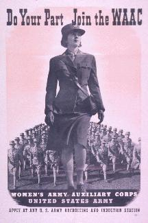 formation of the Women s Auxiliary Army Corps (WAAC) Under this program