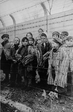 LIBERATION OF DEATH CAMPS While the British and Americans moved eastward