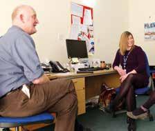 Social Work Our Hospice social workers can help identify and assess the social, practical and emotional needs of patients, families and carers, then arrange appropriate support and care.