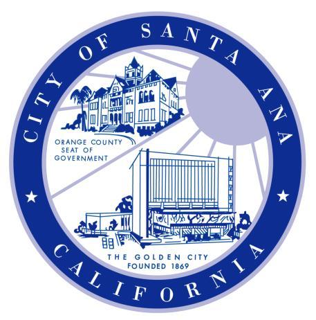 COMMUNITY REDEVELOPMENT AGENCY OF THE CITY OF SANTA ANA REQUEST FOR PROPOSALS