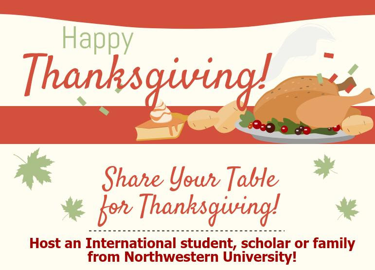 Share Your Table for Thanksgiving Program 9th Year Anniversary!