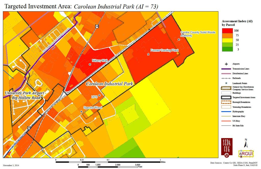 Figure 3-11: Carolean Industrial Park