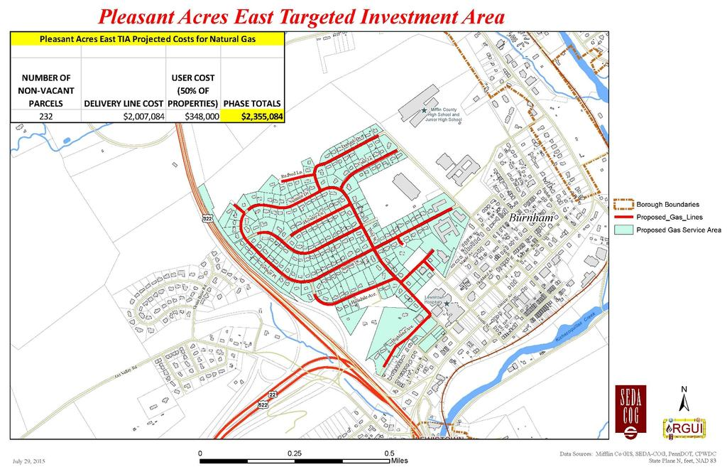 Figure 3-28: Pleasant Acres East Targeted Investment