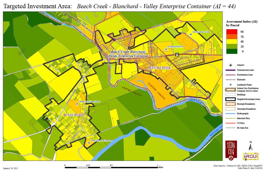 Figure ES-3: Beech Creek-Blanchard-Valley Enterprise