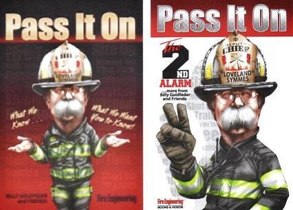Our giveaway was Pass It On Book I and Pass It On Book II. Chief Pat Parker of the Grand Traverse Fire Department was our lucky winner of the drawing.