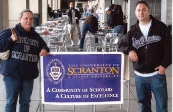 Alumni Connections in California Keep in touch with all that s happening at your alma mater. Check out the CALENDAR OF EVENTS at www. scranton. edu/ events Or, call the events line at (570) 941-7768.