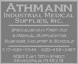 Products and Services The Gold Pages First Aid Supplies Athmann Industrial Medical Supply, Inc.