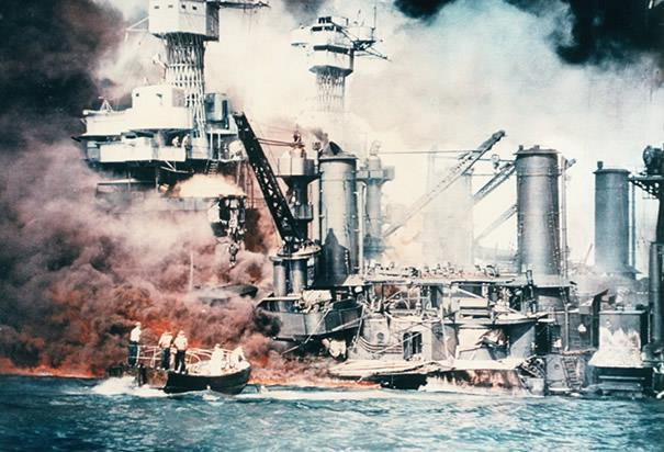 Pearl Harbor December 7, 1941 To secure the needed