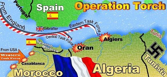 Operation Torch Invasion of