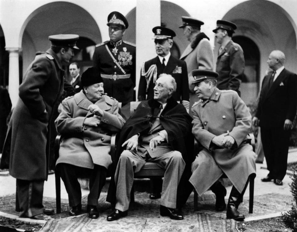 The Yalta Conference Discuss the