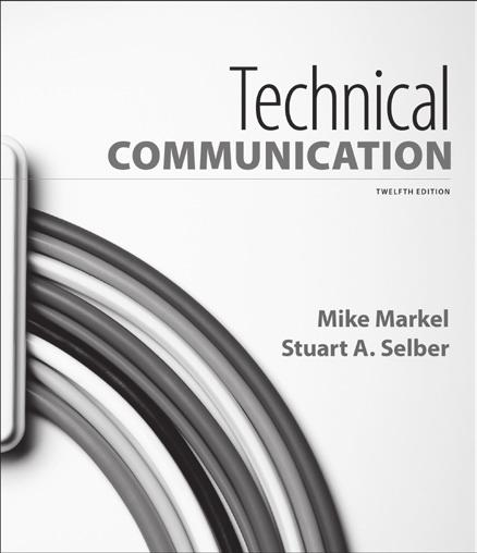 New in Technical Writing Technical Communication MIKE MARKEL Boise State University STUART A.