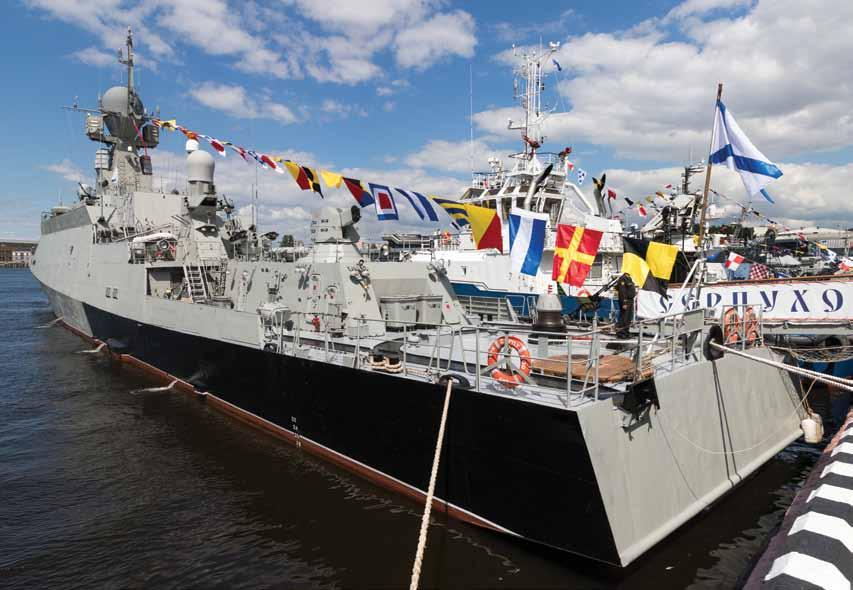 VAYU On-the-Spot Report The Baltic Connection Vayu s Angad Singh visited a number of Russian shipyards on the Baltic Sea, reporting on several key programmes relevant both to India and the broader