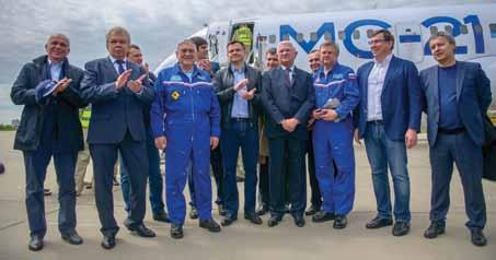 New Kid on the Block Irkut MC-21 s Maiden Flight On 28 May 2017, the first MC- 21-300 airliner made its maiden flight at the Irkutsk Aviation Plant in south-eastern Siberia.