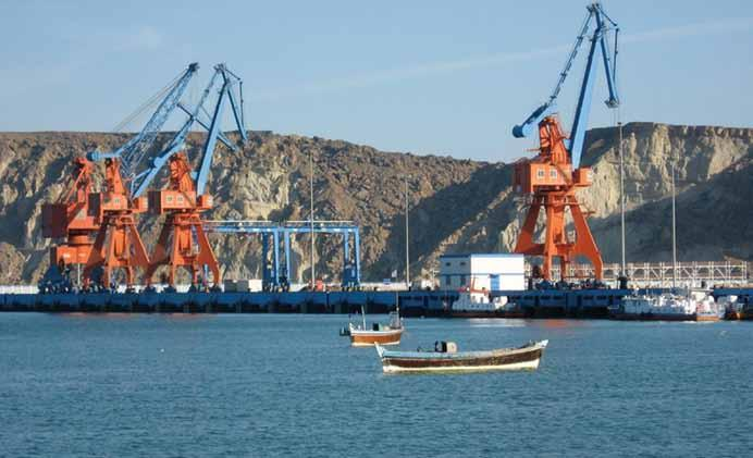 The deep water port at Gwadar in Balochistan is key to China s economic and strategic ambitions in South Asia allowed the Chinese to build a new railway, a new container terminal at Colombo port,